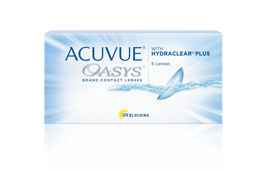 ce01e0810254b Lentilles de contact ACUVUE OASYS® 2-WEEK with HYDRACLEAR® - ACUVUE®