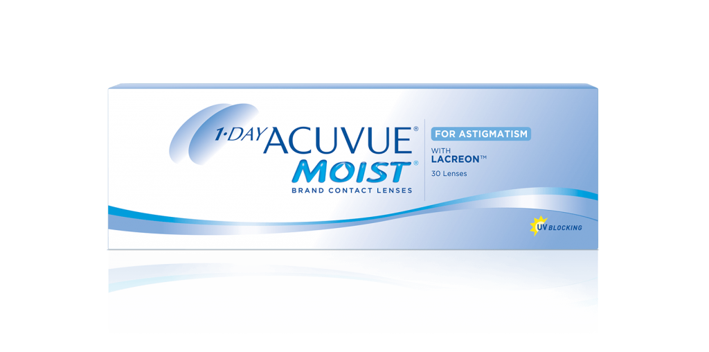 1-DAY ACUVUE® MOIST pour ASTIGMATISME