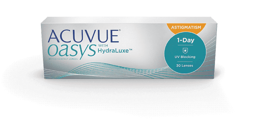 3b13cc8b7e7bba ACUVUE OASYS® 1-DAY avec technologie HydraLuxe™ pour L ASTIGMATISME
